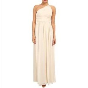 Donna Morgan One Shoulder Gown